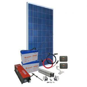 Am găsit sistem fotovoltaic Off Grid pentru bunica mea