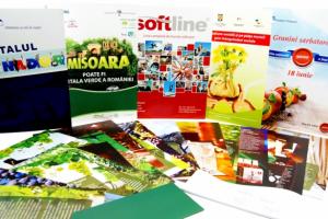 Materiale promotionale la Agrafa Print